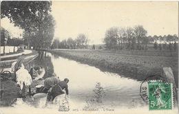 Palaiseau (Seine-et-Oise) Les Bords De L'Yvette, Lavandières - Edition La Salamandre - Carte N° 2073 - Palaiseau