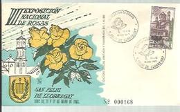 POSTMARKET  1963 ESPAÑA - Rosas
