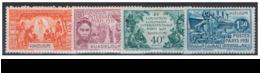 GUADELOUPE N° 123 à 126 Neufs Avec Charnière. - Unused Stamps