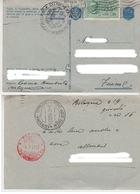 """3.9.1943 FRANCHIGIA SPEDITA ESPRESSO PER FIUME """"OGGI IL TRIPARTITO..."""" MUSSOLINI - 1900-44 Vittorio Emanuele III"""