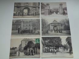 Beau Lot De 20 Cartes Postales De France  Caserne      Mooi Lot Van 20 Postkaarten Van Frankrijk  Kazerne  - 20 Scans - 5 - 99 Postkaarten