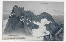 LA MURAILLE SUD DE LA MEIJE - N° 106 - VUE PRISE DU SOMMET DU RATEAU - CPA NON VOYAGEE - France