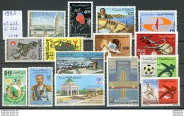 Maroc;1971; Année Complète ;n°612 à 626 ;NEUFS**avec 617A,MNH;Morocco,Marruecos - Maroc (1956-...)
