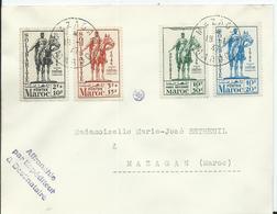 FRANCE-MAROC - Lettre Au Départ De MAZAGAN - Marokko (1891-1956)