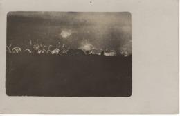No. 3 - Foto-Ak  Vom Frankreich -feldzug Feldzug Blitzkrieg 1939-40 2. WK - Gefechtsfeuer Brand Explosion - Fotografie