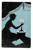 "Bianchi  -  "" Obscurita  ""   -  Femme En  Silouette - Illustratori & Fotografie"