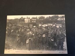 115 - Infanterie En Manoeuvres - Halte Horaire, La Cantine - Manoeuvres