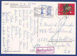 Karte, DDR-Nachgebühr (br8167) - Schweiz