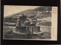 Amalfi Ravello Fontana In Piazza édit. Officina Di Fototipia Napoli N° 313 Précurseur Fontaine - Salerno