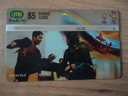 BRUNEI USED CARDS SPORTS  PENKAN SILAT - Brunei