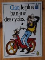 Ciao Le Plus Banane Des Cyclos - Dessin Margerin / BD Lucien / Ricky Banlieue - Publicité Cyclomoteur Vespa - (n°16802) - Publicité