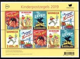 Nederland 2019 Nvph ???, Mi Nr ?? Kinderpostzegels, Thema Kinderboeken, Children's Books, Sheet - Neufs