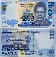 MALAWI       200 Kwacha       P-60b       1.1.2013       UNC  [ Sign. Chuka ] - Malawi