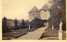 235B... BERZE LE CHATEL . Le Château Fort- Porte Et Cour D'Entrée - Otros Municipios