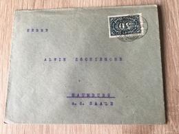 GÄ26223 Deutsches Reich 1923 Drucksache Von ...dorf Sachsen Nach Naumburg - Cartas
