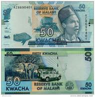 MALAWI       50 Kwacha       P-64c       1.1.2016       UNC  [sign. Chuka] - Malawi