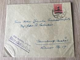 GÄ26223 Deutsches Reich 1923 Drucksache Von Berlin Nach Naumburg - Cartas