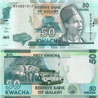 MALAWI       50 Kwacha       P-64[e]       1.6.2018       UNC  [ Sign. Kabambe ] - Malawi