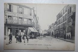 95 : Enghien Les Bains - Grande Rue  ( Cycles Automobiles  - Société Générale ) - Enghien Les Bains