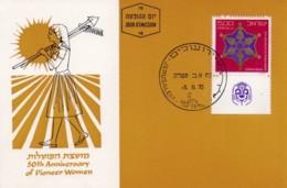 ISRAEL, 1975, Maxi-Card(s),  Pioneer Women, SG612, F5216 - Tarjetas – Máxima