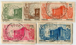 !!! PRIX FIXE : CAMEROUN, SÉRIE BASTILLE N°192/196 OBLIT SÉLECTIONNÉES - Cameroun (1915-1959)