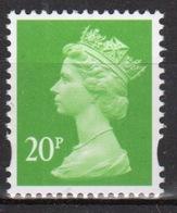 Great Britain Decimal Machin 20p Définitive Stamp. - 1952-.... (Elizabeth II)
