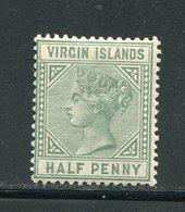 VIERGES (îles)- Y&T N°12- Neuf Avec Charnière * - Iles Vièrges Britanniques