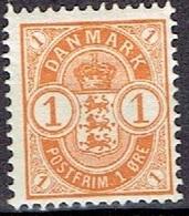 DENMARK  # FROM 1901-02  STAMPWORLD 37* - Nuovi