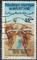 Mauritanie 1988 Oblitéré Used Animaux De Labour FIDA Fonds International De Développement Agricole SU - Mauretanien (1960-...)