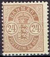DENMARK  # FROM 1901-02  STAMPWORLD 39* - Nuovi