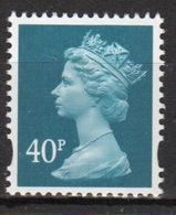 Great Britain Decimal Machin 40p Définitive Stamp. - 1952-.... (Elizabeth II)