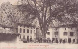 09 ROQUEFIXADE LA PLACE ET LE CHATEAU TRES AMINÉES EN BON ETAT - France