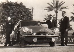 "Cpsm 28e Rallye Monte Carlo,1959,""Les Vainqueurs"",Citroën D.S ID 19 - Rally's"