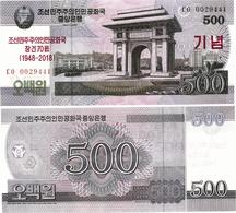 NORTH KOREA     500 Won      Comm.       P-CSNew       J. 97 / 2008 (2018)        UNC - Corea Del Nord