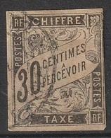 Emission Colonies Générale Taxe N° 9  (F3) - Postage Due