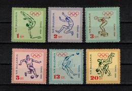 BULGARIE  Timbres Neufs** De 1964 ( Ref 1390 A)  Sport -jeux Olympiques Tokyo - Nuevos
