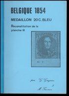 Belgique 1854 - Médaillon 20 C - Reconstitution De La Planche III Par G. GUYAUX & M. TAVANO - Autres