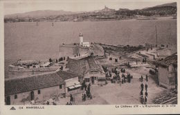 830   MARSEILLE????      ECRITE - Château D'If, Frioul, Islands...