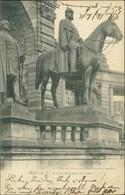 AK Halle A. S. Kaiser Wilhelm-Denkmal (1-750) - Halle (Saale)