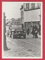 Charleroi - Libération Septembre 1944 - Soldats Et Véhicules US ... Viaduc - Retirage - Oorlog 1939-45