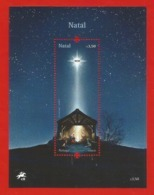 Portugal  2019 , Natal / Weihnachten / Christmas - With LED - Block / Sheet - Postfrisch / MNH / (**) - 1910-... República