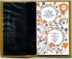 1974 - PETIT AGENDA ENCYCLOPEDIQUE FEDERATION NATIONALE COIFFURE - NOGENT SUR SEINE - 104 PAGES AVEC PHOTOS ET DESSINS - Vieux Papiers