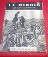 WW2 Le Miroir N°17 24 Décembre 1939 Ligne Maginot,Diables Bleus Chasseurs à Pied,Sportifs à La Guerre Di Lorto,Petra - French