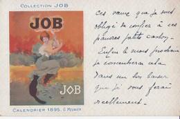 COLLECTION JOB ILLUSTRATEUR G.MEUNIER CALENDRIER 1895 TRES AMINÉES EN BON ETAT - Meunier, G.