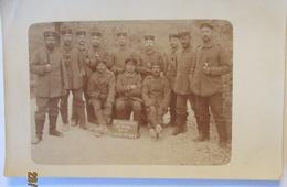 Verdun, Frankreich, Korporalschaft LW.Fuß.Art.B.3 Fotokarte (37795) - Weltkrieg 1914-18