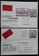 Österreich 1976, 2 EXPRESS Postkarte - 1971-80 Briefe U. Dokumente