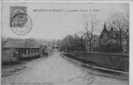Montignies Le Tilleul-montigny Le Tilleul- Bomerée  Rue De La Station-rare- Top Carte - Montigny-le-Tilleul