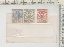 FRANCHIGIA - Enti Parastatali: Opera Nazionale Protezione Assistenza Invalidi Guerra - Lire 1 - Cent. 5 - 10   1924 - 1900-44 Victor Emmanuel III