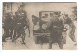 Jugoslawien .  Interessante Alte Karte , Strassenschlacht ? 1934 - 1931-1941 Königreich Jugoslawien