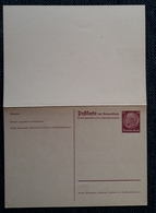 DR 1933, Postkarte P230I Ungebraucht - Allemagne